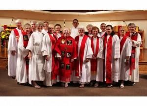 Celebrating the Ordination of Women Priests, Sarasota, FL, May 2015