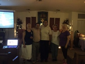 Women Priests participate in Taize Healing Service with friends at Spirit of Life in New Port Richey FL