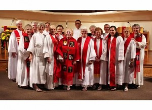 Celebrating the Ordination of Women Priests, Sarasota, FL, May 2015